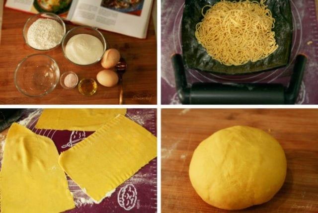 domowy włoski makaron
