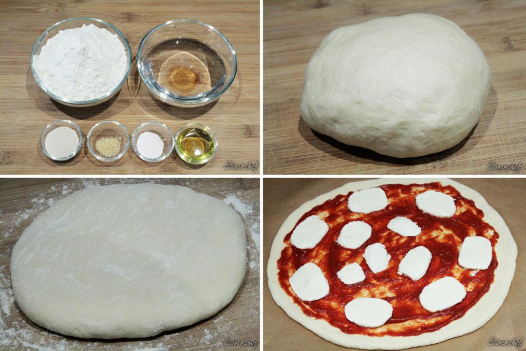 ciasto chlebowe na pizzę
