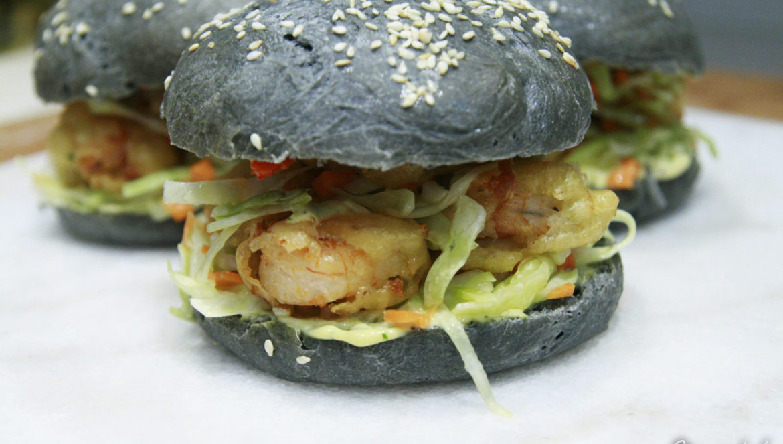 czarne burgery