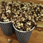 popcorn z czekoladą