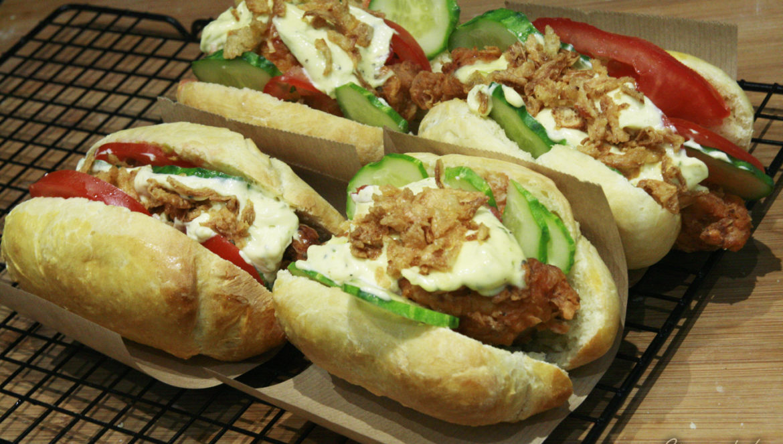 strips hot dogi a'la kfc