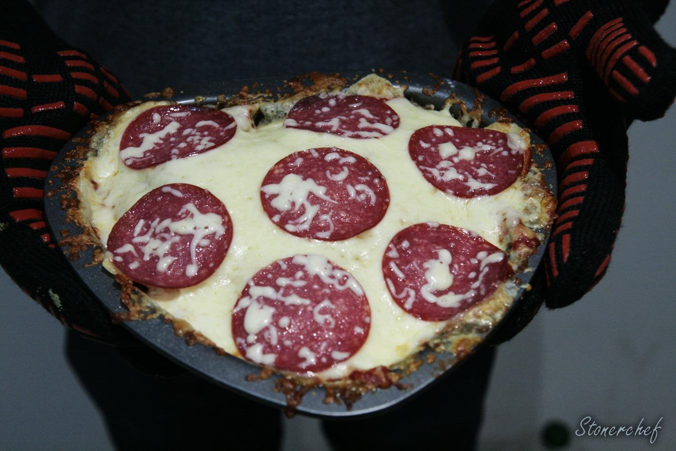 ostatecznie zapieczona chipizza