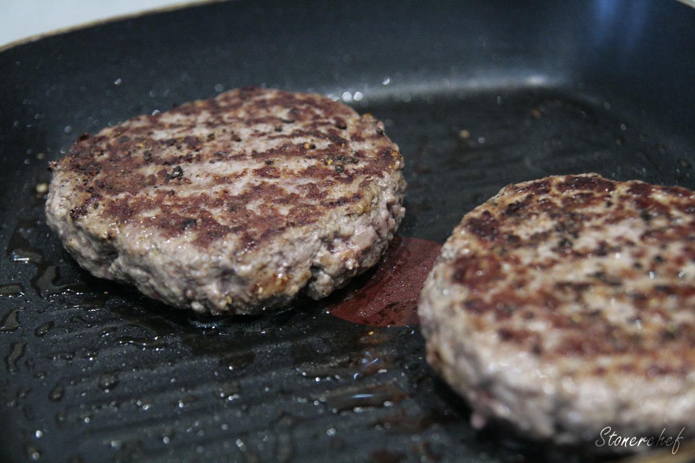 Usmażone burgery