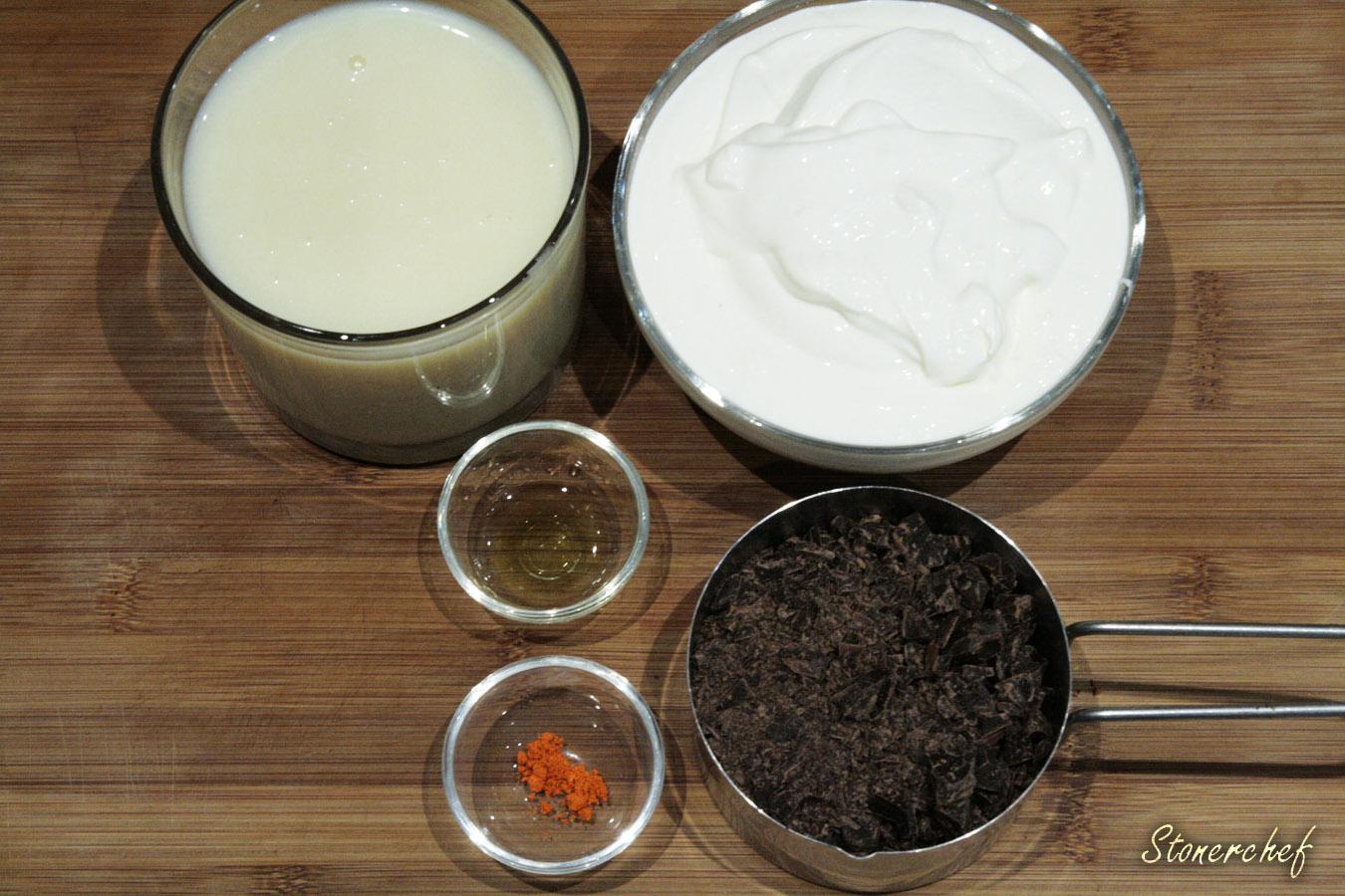 składniki na lody miętowe