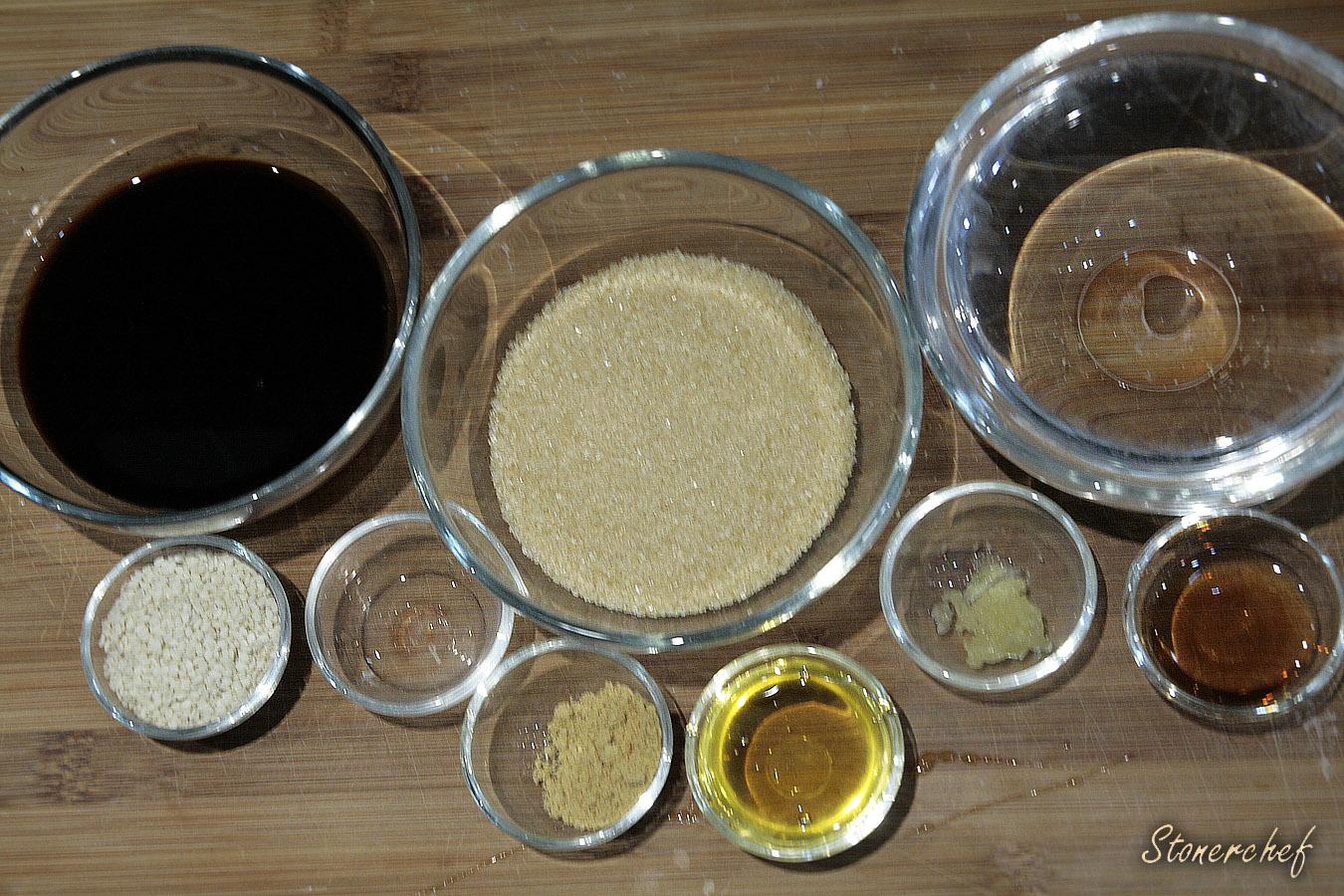 sos teriyaki składniki