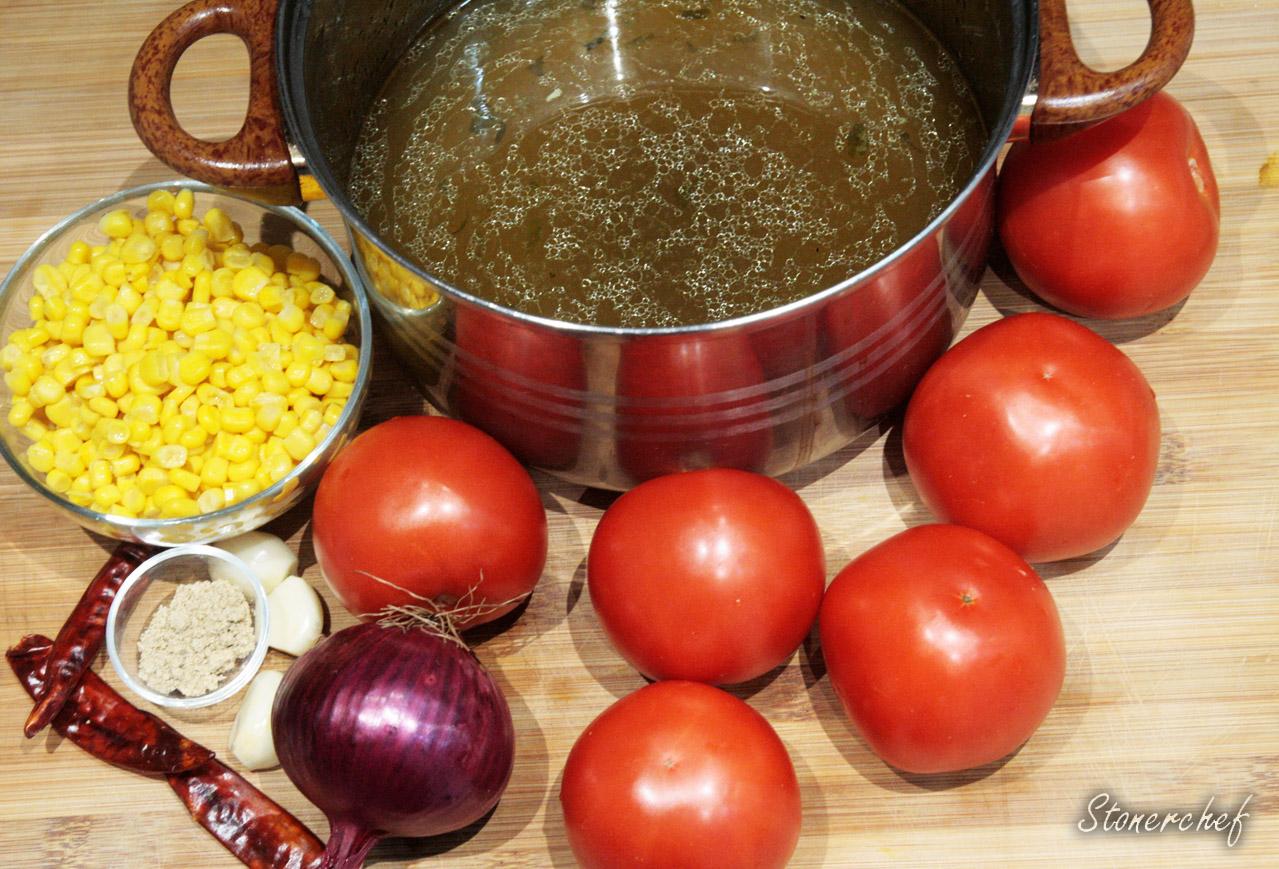 składniki na zupę meksykańską