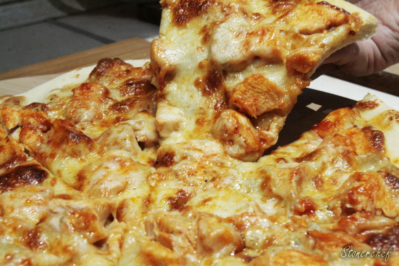 pizza z kurczakiem buffalo