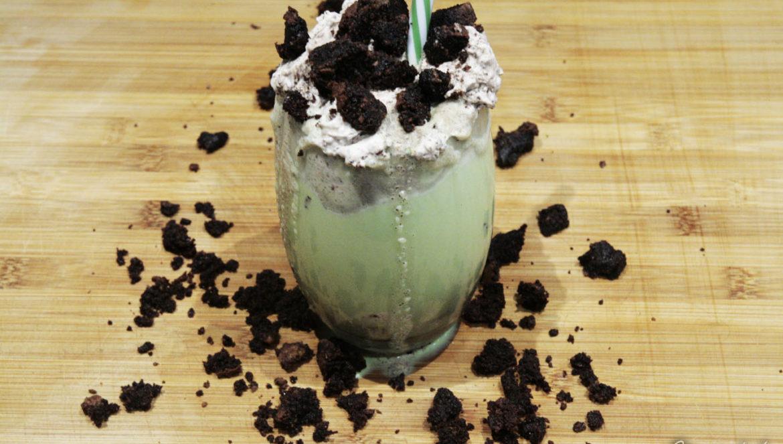 miętowo-czekoladowy milkshake