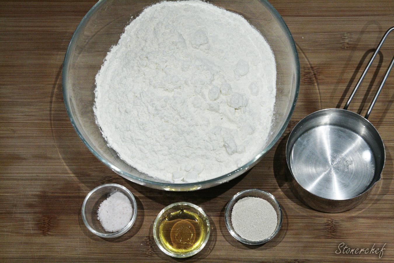 składniki na chleb tostowy