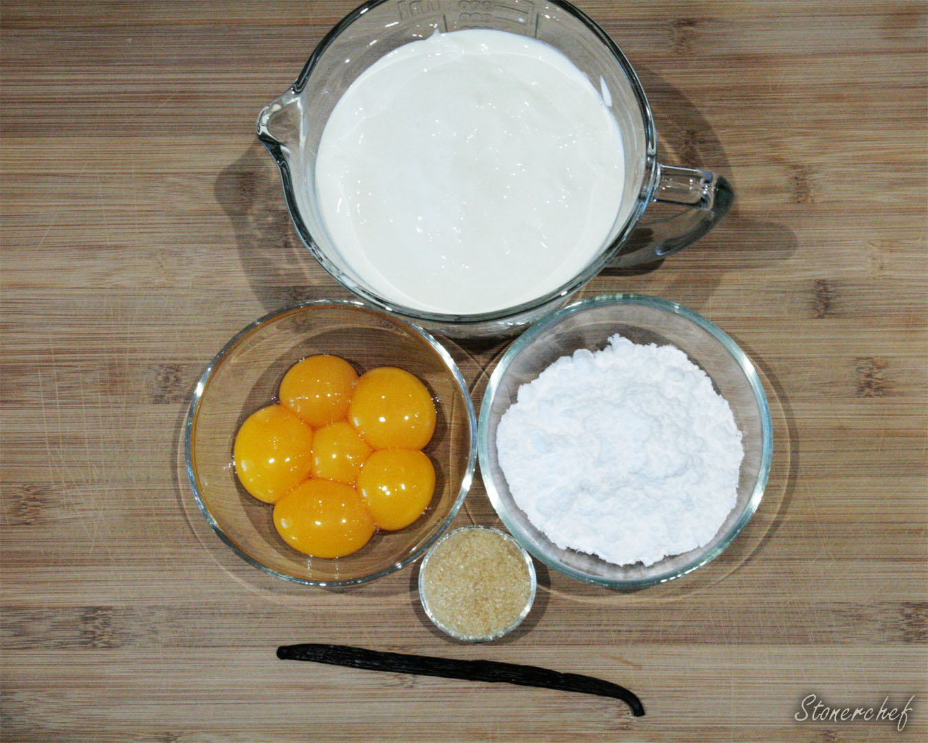 składniki na creme brulee