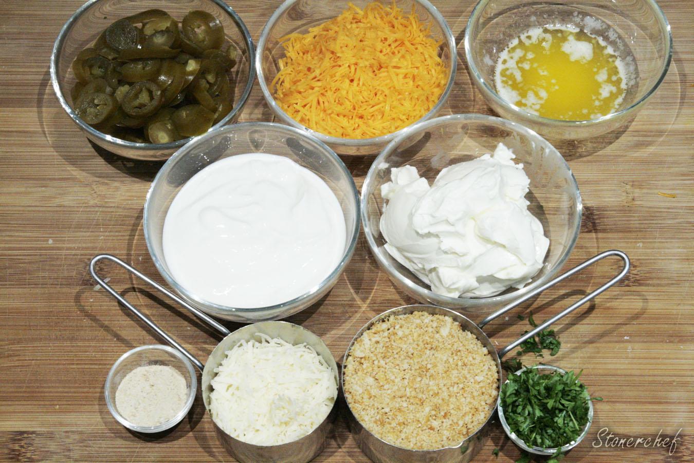 składniki na dip jalapeno