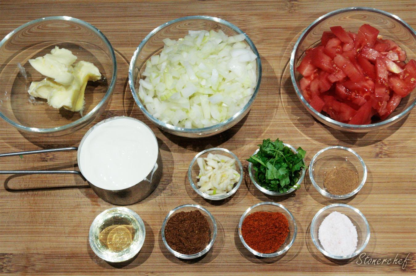 maślane curry