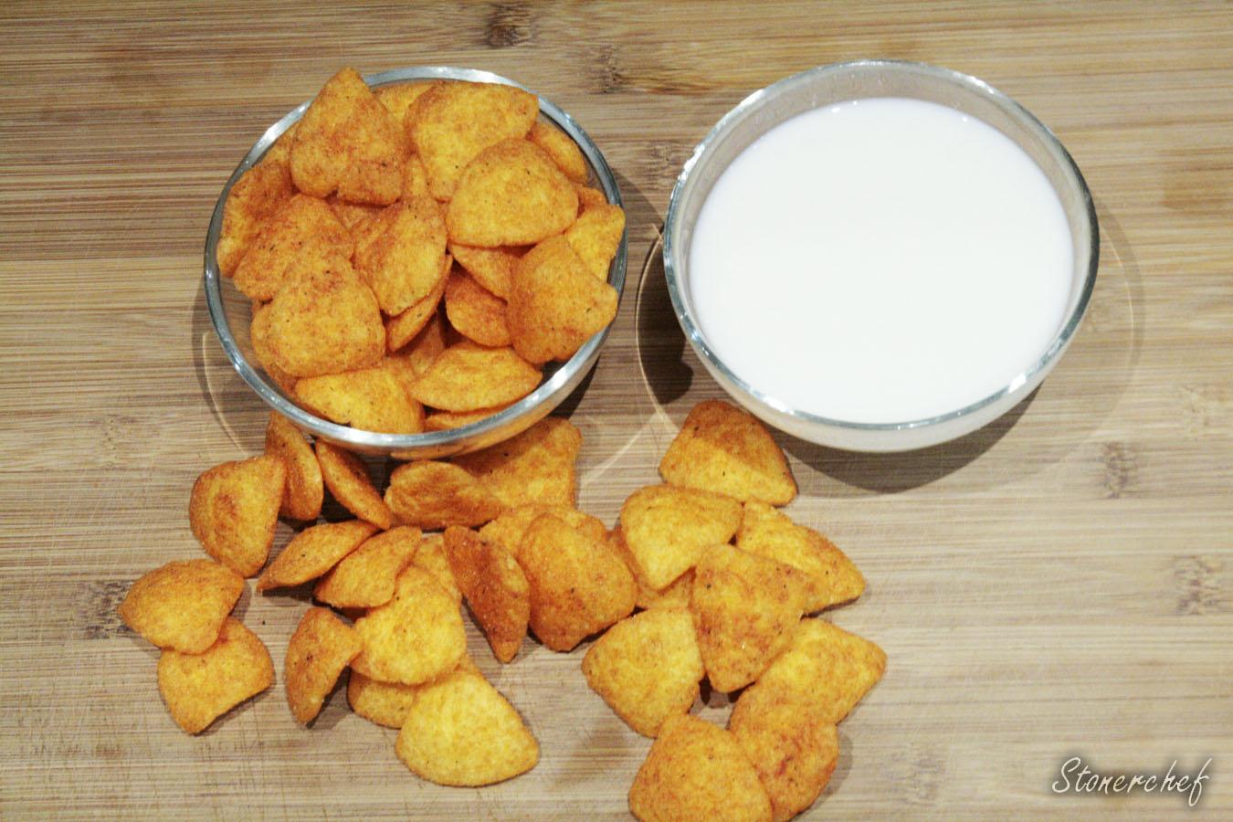 składniki na panierkę z cheetosów