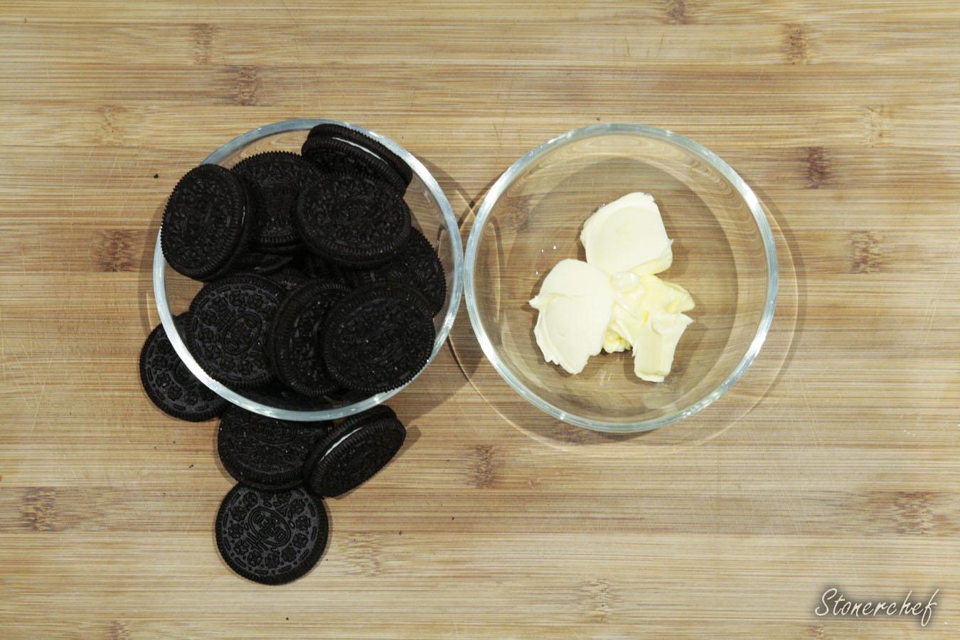 składniki na spód do tarty