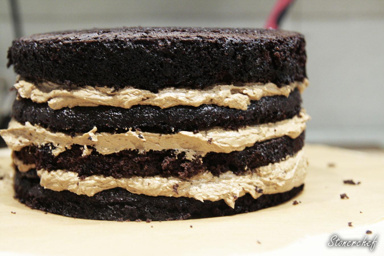 wszystkie warstwy tortu
