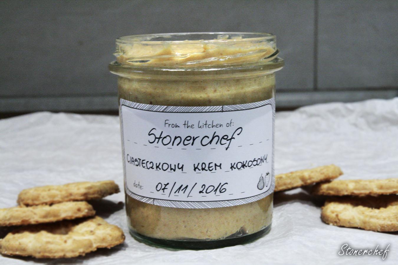 ciasteczkowy krem kokosowy