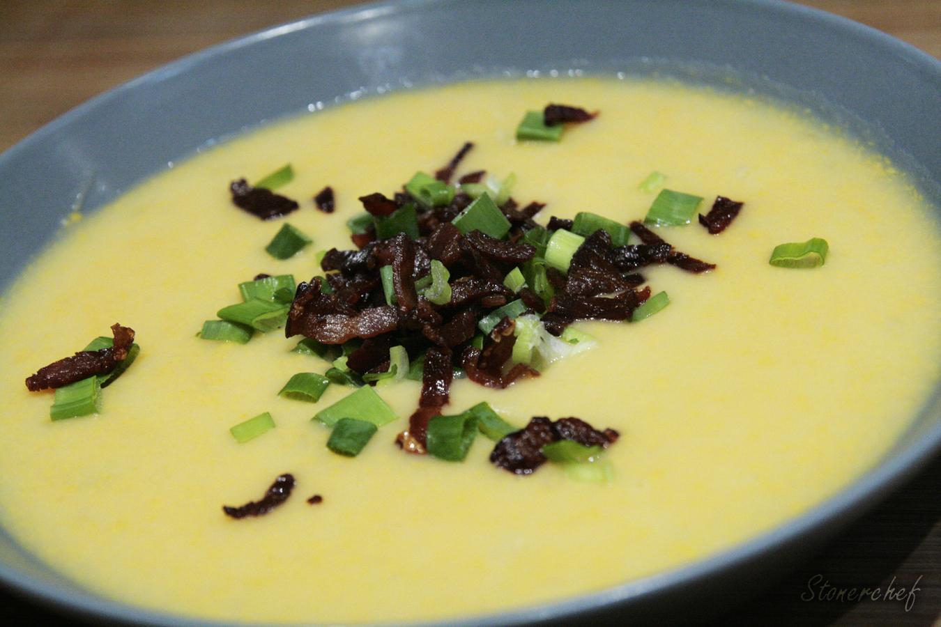 zupa ziemniaczano-serowa