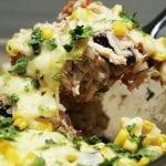 ryżowa enchilada z kurczakiem