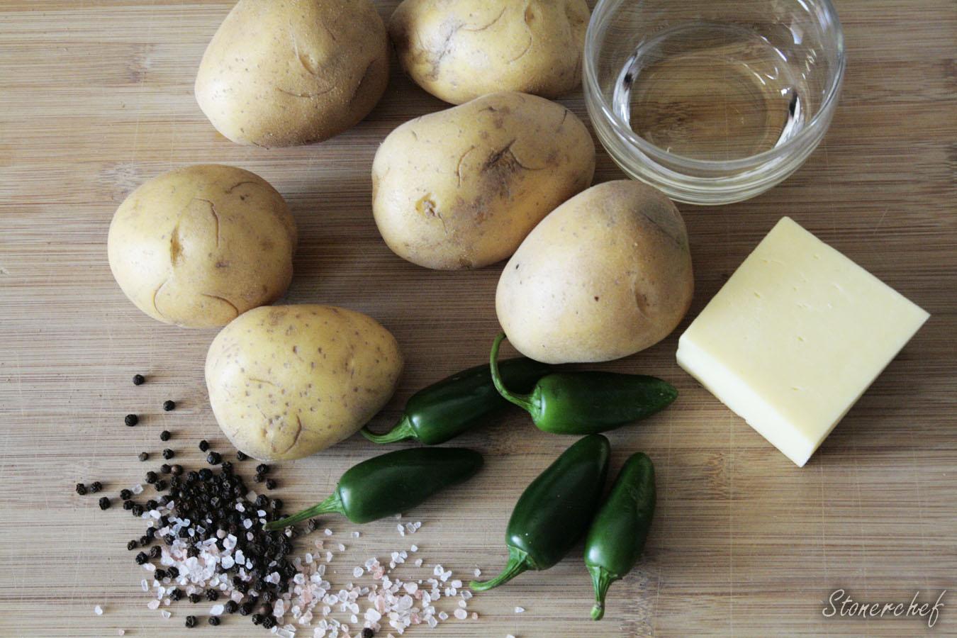składniki na ziemniaki hasselback
