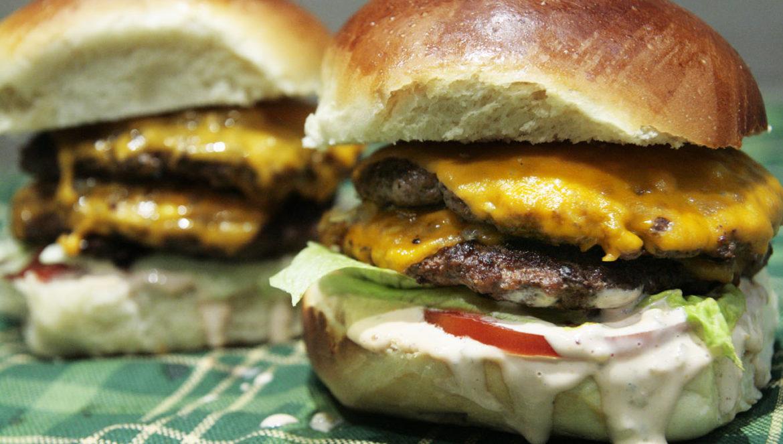 bliźniacze burgery