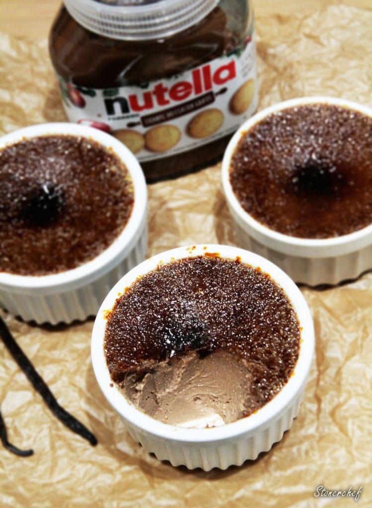 nutella crème brûlée