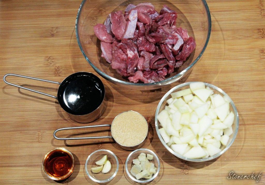 koreańska wołowina