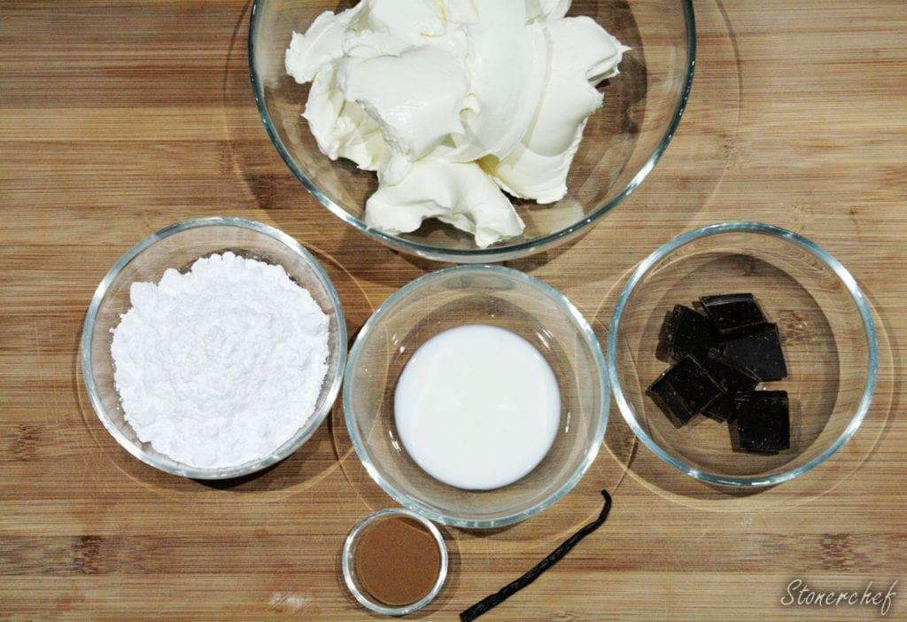 składniki na kremy mascarpone
