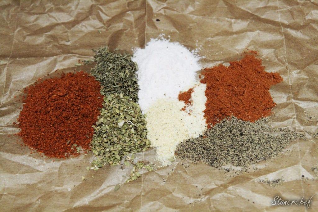 składniki na mieszankę kreolską