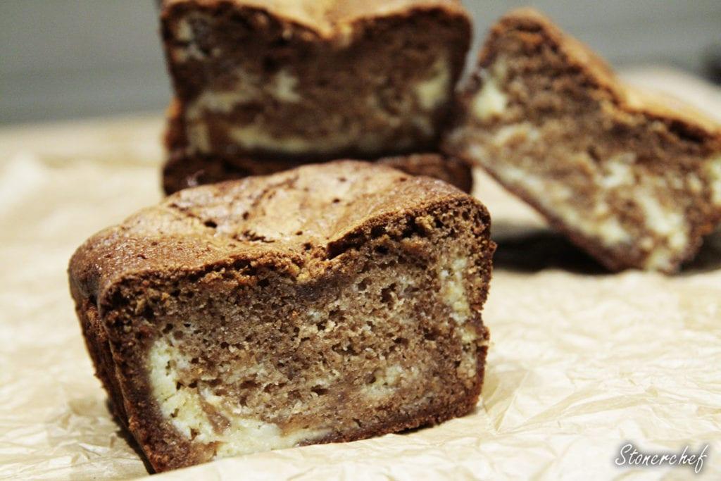 sernikowe brownie