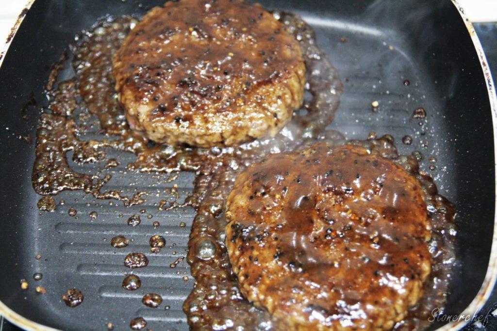 burgery teriyaki