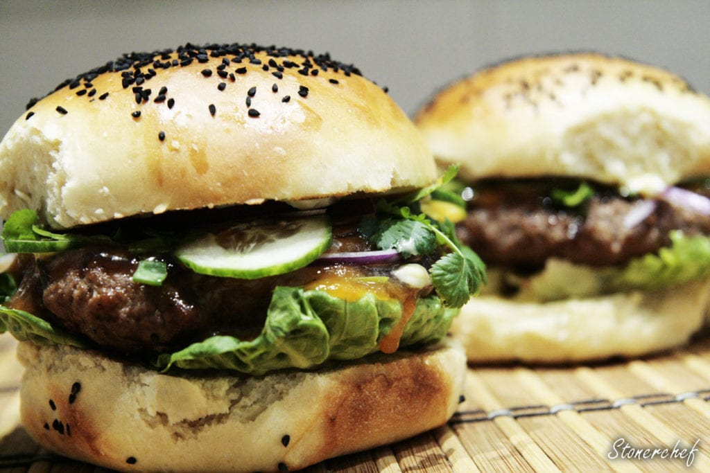 burger teriyaki
