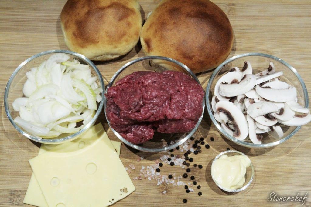 składniki na burgery cebulackie