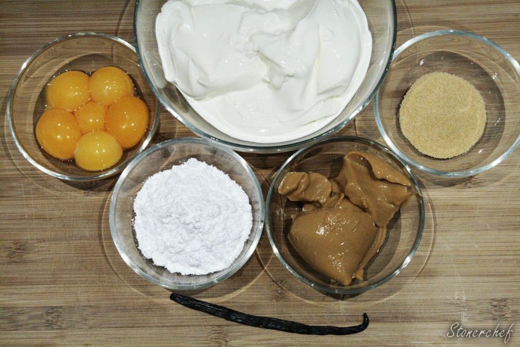 składniki na kajmakowy creme brulee