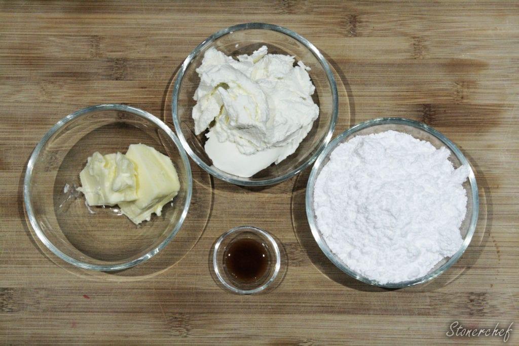 składniki na krem do ciastek whoopie pies