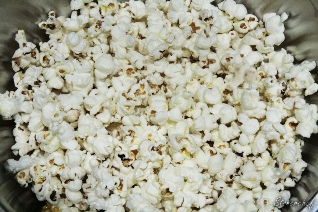uprażony popcorn