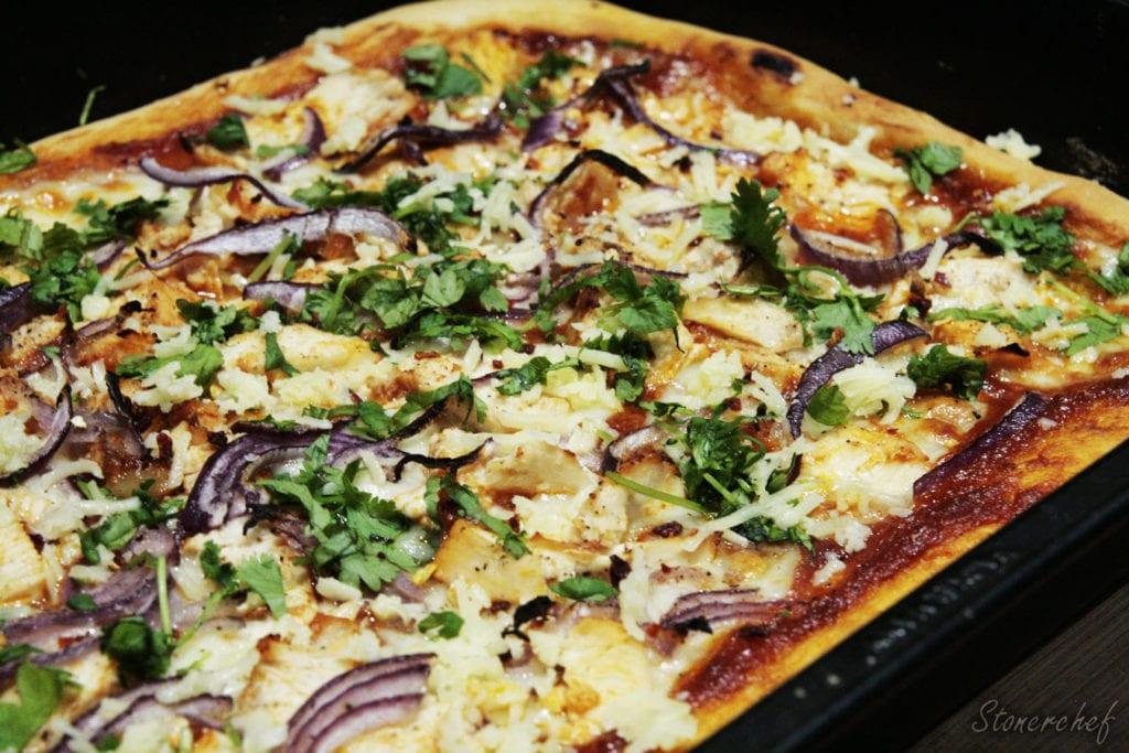 pizza z kurczakiem texas barbecue