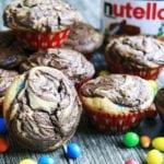 Babeczki Nutella