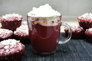 gorąca czekolada red velvet