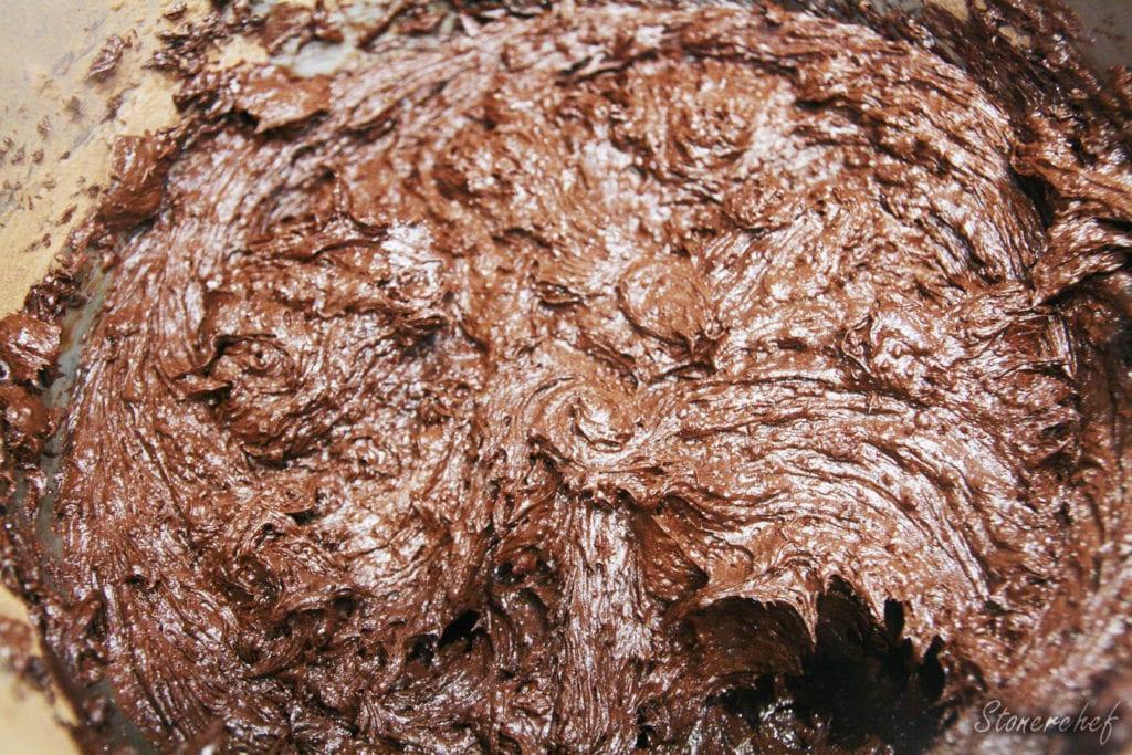 masa pod brownie z m&msami