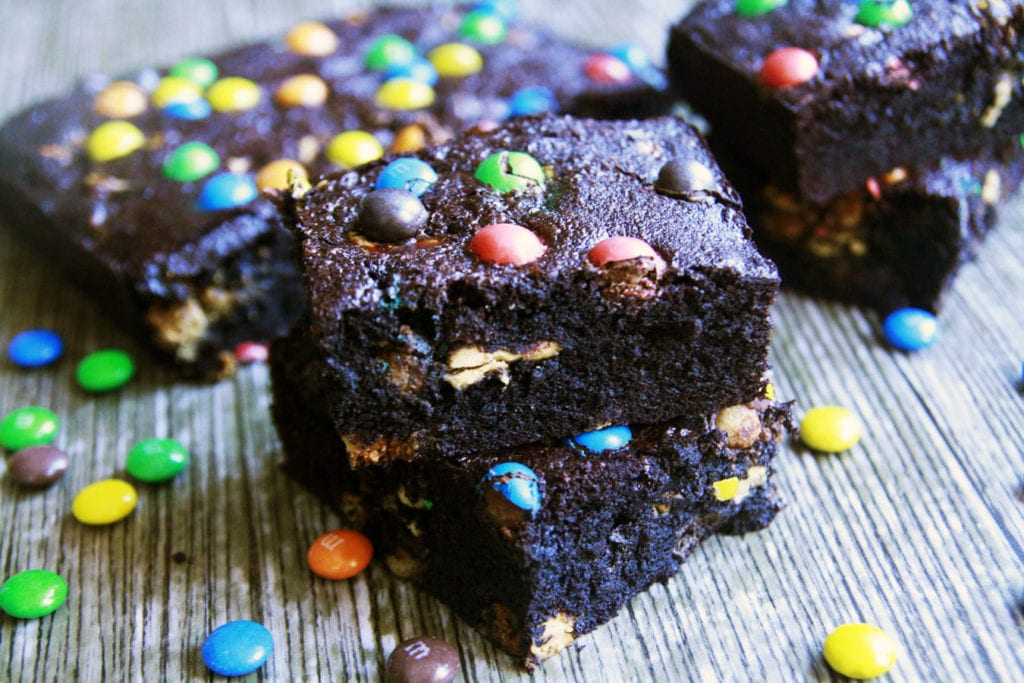 brownie m&ms