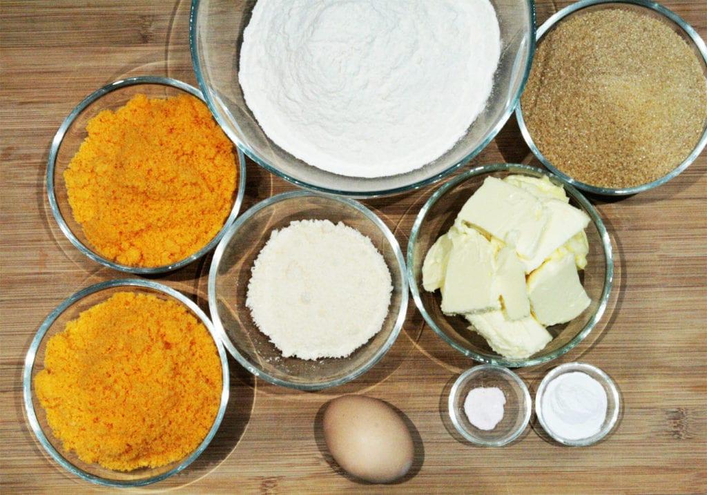 składniki na ciastka cheetos