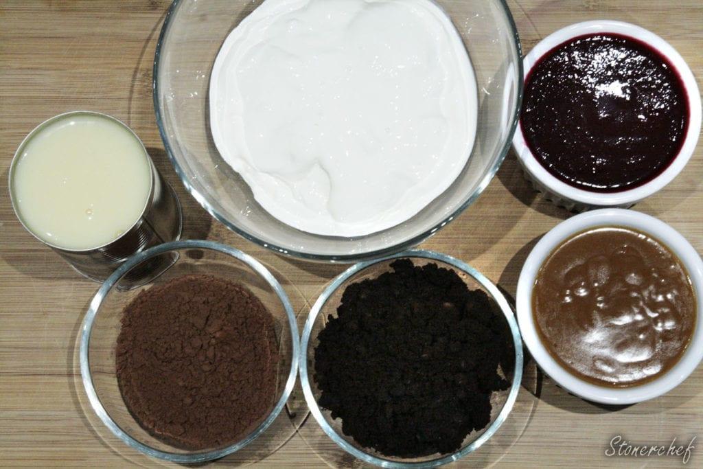 składniki na lody brownie