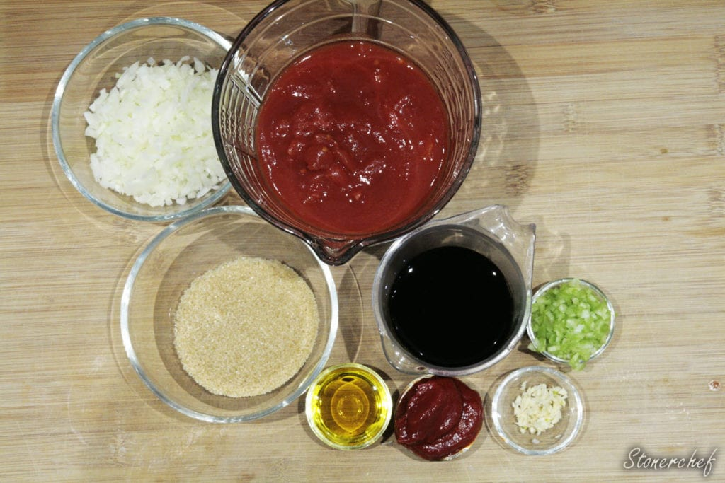 składniki na domowy ketchup