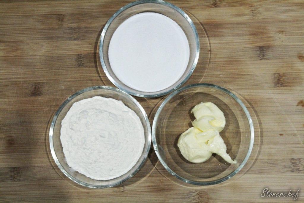 składniki na kruszonkę do babeczek