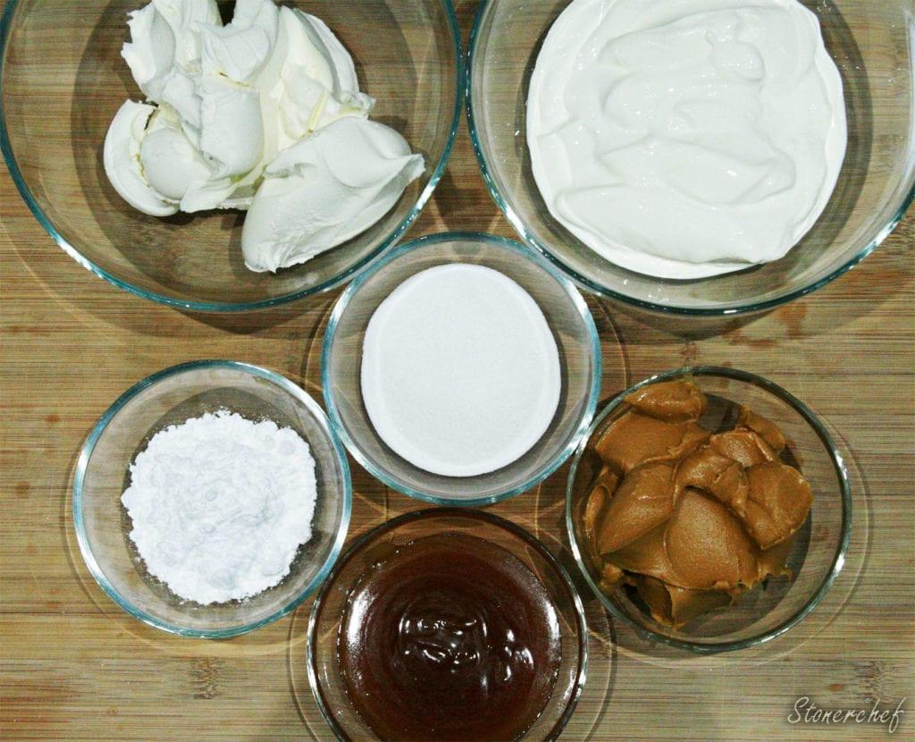 składniki na masę sernikową do sernika mascarpone
