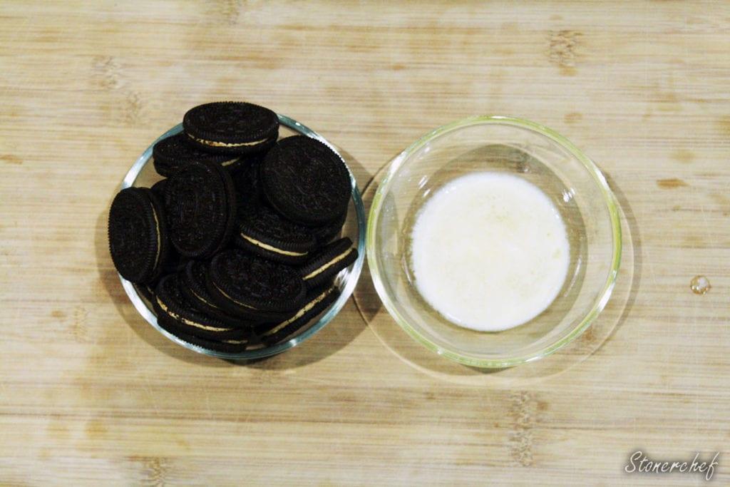 składniki na spód oreo do sernika