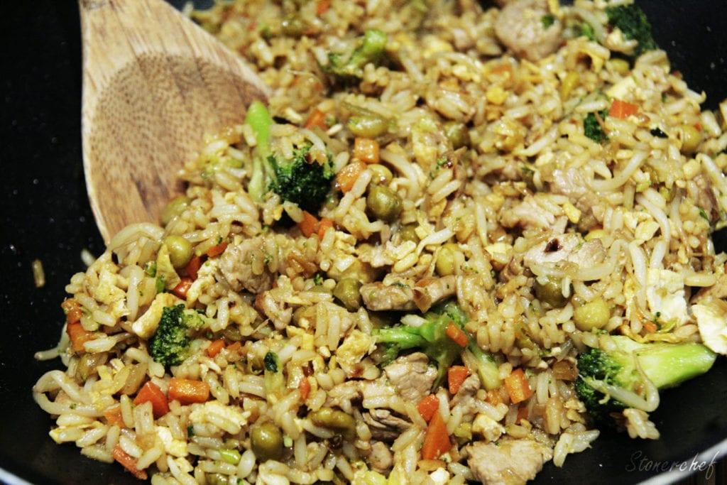 ryż smażony