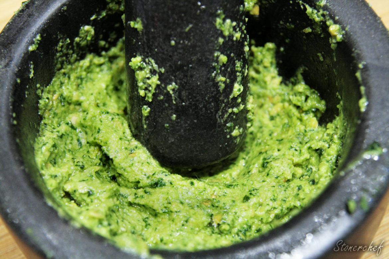 zielone pesto