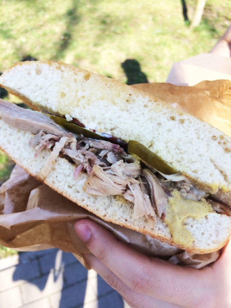 pulled pork la chica sandwicheria