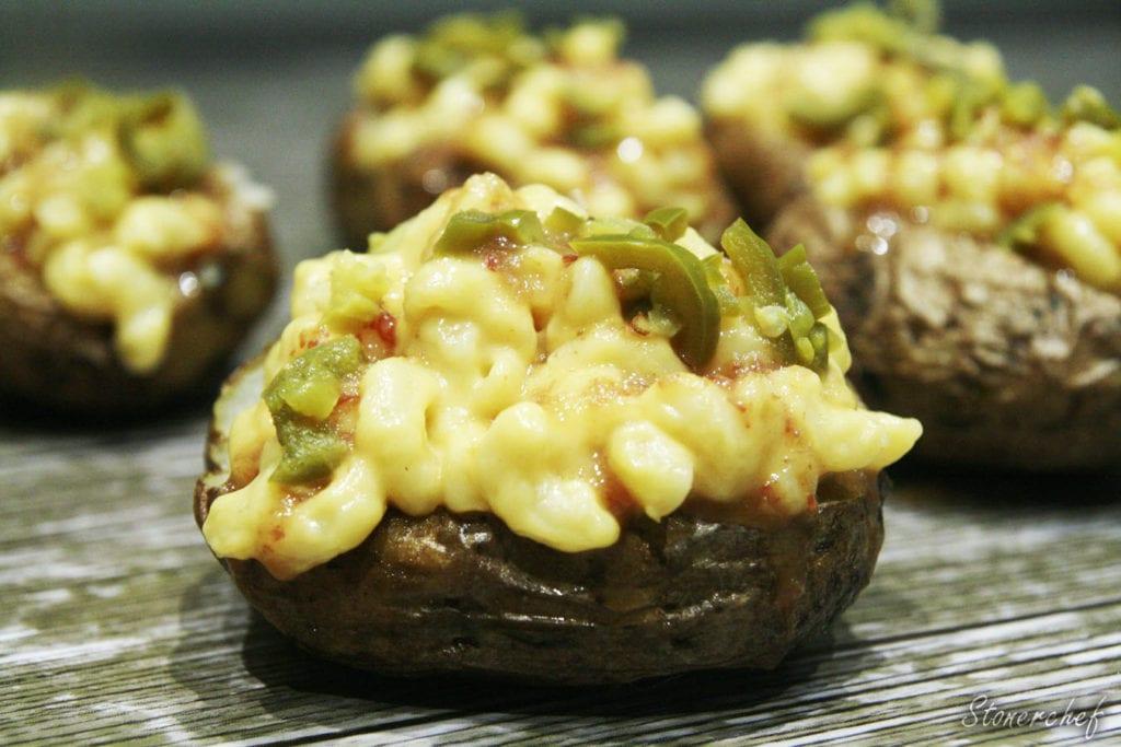 ziemniaki z mac and cheese